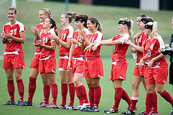 The New Mexico Lobos faced the Arizona Wildcats in the first game of the 2007 Nike Soccer Classic held at Klockner Stadium in Charlottesville, VA on August 14, 2007.  The Wildcats defeated the Lobos 4-1.