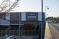 2020-03-20 | Olofström, Sverige:  Volvo Cars meddelade under fredagen att man på torsdag nästa vecka kommer att stoppa all sin produktion i Sverige. Produktionsstoppet väntas gälla fram till och med påskhelgen. Detta till följd av Coronavirusets (COVIID-19) spridning i världen. På bilden syns Volvos fabrik i Olofström där ca 2000 personer idag jobbar. <br /> <br /> (Foto av: Simon Nilsson | Swe Press Photo)<br /> <br /> Nyckelord: Blekinge, Corona, Olofström, Sverige, Volvo