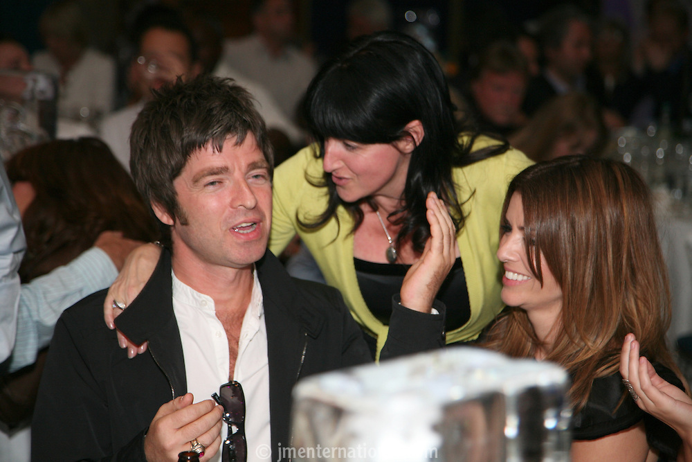 Noel Gallagher, Nicky Weller and Sarah Macdonald