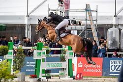 HOUTZAGER Marc (NED), Sterrehof's Dante<br /> Hagen - Horses and Dreams 2019 <br /> Preis der LVM Versicherung - CSI4* Quali. BEMER-RIDERS TOUR-Wertung - Stechen<br /> 27. April 2019<br /> © www.sportfotos-lafrentz.de/Stefan Lafrentz