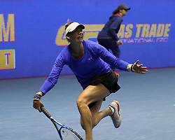 January 30, 2018 - St.Petersburg, Russia - Russian Federation. Saint-Petersburg. SIBUR-Arena. Tennis. Tennis tournament. Tennis tournament WTA St.Petersburg Ladies Trophy 2018. Women...Vera ZVONAREVA (Credit Image: © Russian Look via ZUMA Wire)