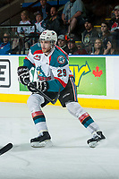 KELOWNA, CANADA - MAY 1: Leon Draisaitl #29 of Kelowna Rockets skates against the Portland Winterhawks on May 1, 2015 at Prospera Place in Kelowna, British Columbia, Canada.  (Photo by Marissa Baecker/Getty Images)  *** Local Caption *** Leon Draisaitl;