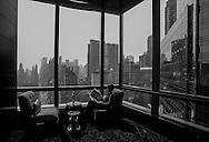 New York. elevated view on central park and Manhattan cityscape New York - United states  / central park south et le skyline de Manhattan New York - Etats unis