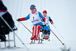 KONOVALOVA Svetlana, RUS at the 2014 IPC Nordic Skiing World Cup Finals - Sprint
