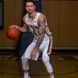 Sep 30, 2019; New Orleans, LA, USA; New Orleans Pelicans guard JJ Redick (4) poses for a portrait during Media Day at the Ochsner Sports Performance Center . Mandatory Credit: Derick E. Hingle-USA TODAY Sports