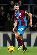 Scunthorpe United defender Cameron Burgess during the EFL Sky Bet League 1 match between Scunthorpe United and Oxford United at Glanford Park, Scunthorpe, England on 3 November 2018.