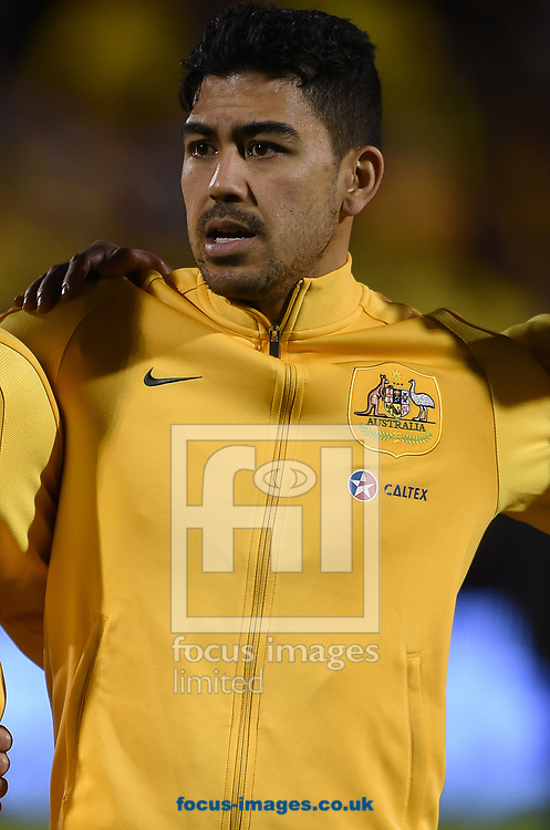 Massimo Luongo of Australia during the International Friendly match at Craven Cottage, London<br /> Picture by Daniel Hambury/Focus Images Ltd 07813022858<br /> 27/03/2018