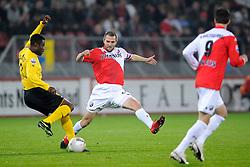 23-10-2009 VOETBAL: FC UTRECHT - RODA: UTRECHT<br /> Utrecht wint met 2-1 van Roda / Michael Silberbauer en Eric Addo<br /> 2009-WWW.FOTOHOOGENDOORN.NL