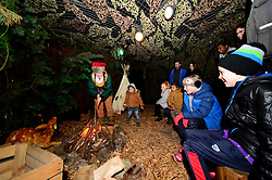 Christmas experience at Bristol City and Bristol Rugby party at Avon Valley Country Park - Photo mandatory by-line: Dougie Allward/JMP - 26/11/2017 - Avon Valley Country Park - Bristol, England -  v  - Bristol City and Bristol Rugby Christmas party