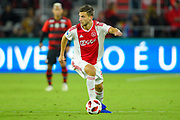 Ajax defender Joel Veltman (3) in action during a Florida Cup match at Orlando City Stadium on Jan. 10, 2019 in Orlando, Florida. <br /> Flamengo won in penalties 4-3.<br /> <br /> ©2019 Scott A. Miller