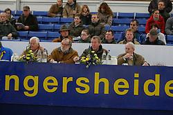 Jury: Melchior Leon, Nepper A., Kasselmann U., Heins J.<br /> Hengstenkeurig Zangersheide 2008<br /> Photo© Hippo Foto