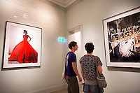 Lima, Peru- March 22, 2015: Vistors admire the work of Lima-born photographer Mario Testino at M.A.T.E, one of more a dozen galleries and museums in the  trendy Barranco district. CREDIT: Chris Carmichael for The New York Times