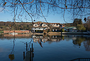 Henley, Oxfordshire. England General View; Leander Club, Henley, Berkshire <br /> Thursday  01/12/2016<br /> © Peter SPURRIER<br /> LEICA CAMERA AG  LEICA Q (Typ 116)  f1.7  1/4000sec  35mm  10.0MB