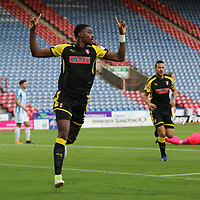 Huddersfield Town VS Rotherham United Carabao Cup Round 2<br /> Wednesday 23rd August 2017 JOHN SMITH STADIUM<br /> <br /> SEMI AJAYI CELEBRATES PUTTING THE MILLERS AHEAD 1-0 <br /> <br /> Pictures - Alex Roebuck / www.alexroebuck.co.uk