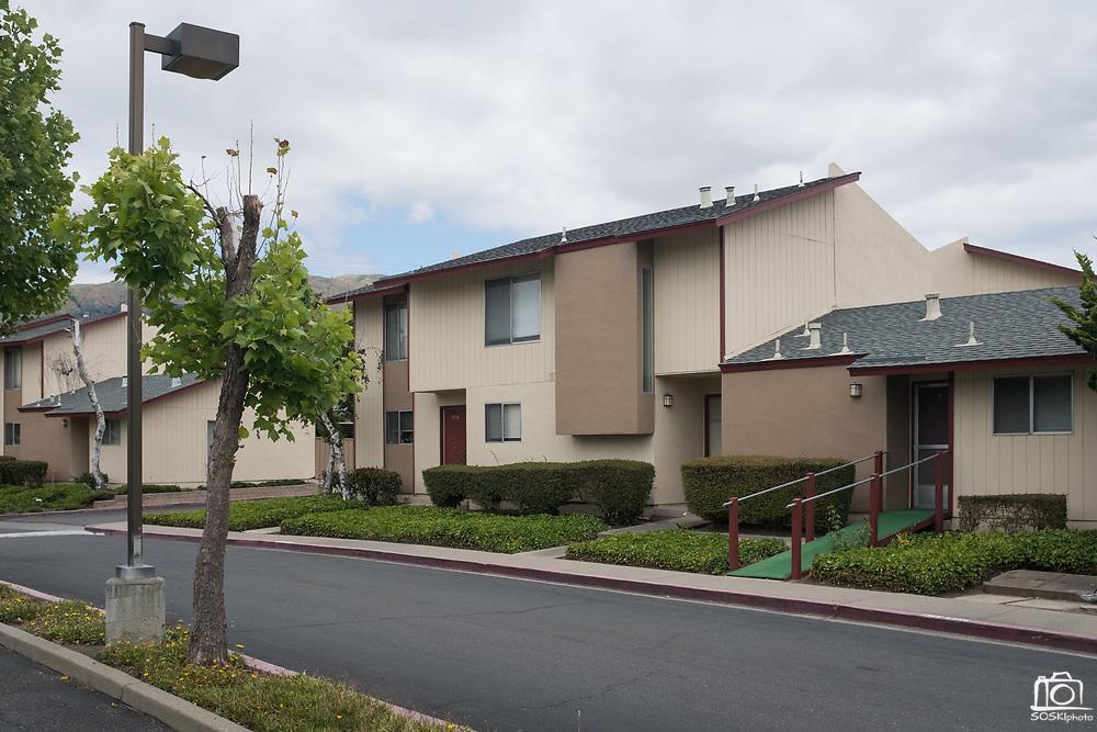 The Sunnyhills Apartments in Milpitas, California, on May 26, 2017. (Stan Olszewski/SOSKIphoto)