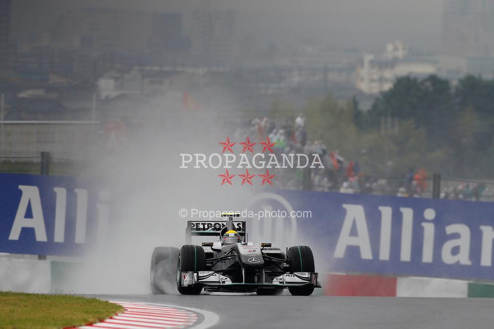 Motorsports / Formula 1: World Championship 2010, GP of Japan, 04 Nico Rosberg (GER, Mercedes GP Petronas),