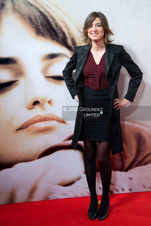 Sandra Barneda attends 'Venuto Al Mondo' Premiere at Capitol Cinema in Madrid