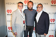 CAP D'ANTIBES, FRANCE - JUNE 23:  iHeartMedia Chairman and CEO Bob Pittman, Sting and Michael Kassan attend a dinner party hosted by iHeartMedia and Medialink at Hotel du Cap-Eden-Roc in Antibes, France during the Cannes Lions Festival, featuring a special performance by Sting.  (Photo by Tony Barson/Getty Images for iHeartMedia)