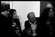 Betsy de Lotbiniere; Ming Lampson; Adrian Dannatt; Jasmine Dellal, Behind the Silence. private view  an exhibition of work by Paul Benney and Simon Edmondson. Serena Morton's Gallery, Ladbroke Grove, W10.  4 November 2015.
