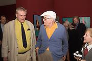 BING MCGILVRAY; DAVID HOCKNEY, David Hockney RA: 82 Portraits and 1 Still-life. Royal Academy of Arts. Piccadilly. London. 28 June 2016