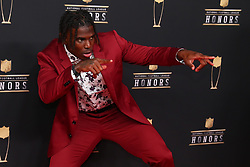 February 2, 2019 - Atlanta, GA, U.S. - ATLANTA, GA - FEBRUARY 02:  Tyreek Hill poses for photos on the red carpet at the NFL Honors on February 2, 2019 at the Fox Theatre in Atlanta, GA. (Photo by Rich Graessle/Icon Sportswire) (Credit Image: © Rich Graessle/Icon SMI via ZUMA Press)