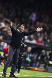 December 23, 2017 - Valencia, Spain - Javi Calleja during the match between Valencia CF against Villarreal CF , week 17 of  La Liga 2017/18 at Mestalla stadium, Valencia, SPAIN - 17th December of 2017. (Credit Image: © Jose Breton/NurPhoto via ZUMA Press)
