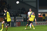 Jamie Murphy of Burton Albion (29) passes the ball forward during the EFL Sky Bet League 1 match between Burton Albion and Oxford United at the Pirelli Stadium, Burton upon Trent, England on 11 February 2020.
