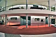 Nederland, Nijmegen, 29-11-2018Interieur van de nijmeegse stadsschouwburg, schouwburg .Ontworpen in de jaren zestig, 60.Foto: Flip Franssen