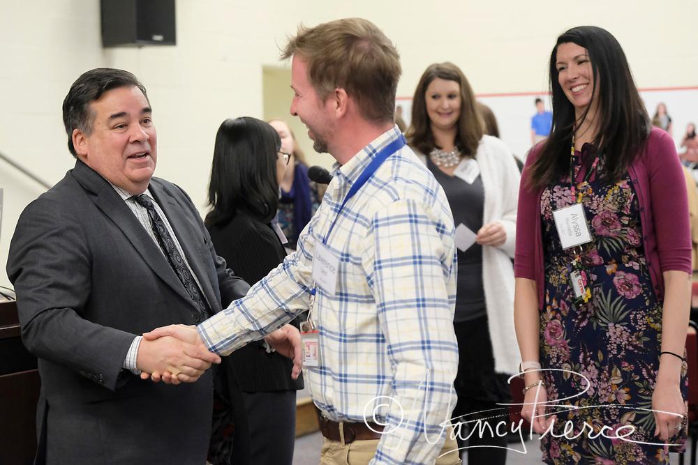 National Board Certified Teacher Reception