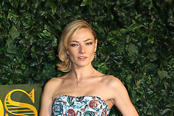 © Licensed to London News Pictures. 13/11/2016. London, UK, Clara Paget, Evening Standard Theatre Awards, Photo credit: Richard Goldschmidt/LNP
