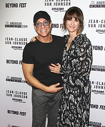 """Amazon Prime Video """"Jean-Claude Van Johnson"""" Premiere at The Egyptian Theatre in Hollywood, California on 10/9/17. 09 Oct 2017 Pictured: Jean-Claude Van Damme, Kat Foster. Photo credit: River / MEGA TheMegaAgency.com +1 888 505 6342"""