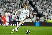 Gareth Bale of Real Madrid during the Spanish championship Liga football match between Real Madrid and Getafe CF on March 3, 2018 at Santiago Bernabeu Stadium in Madrid, Spain - Photo Oscar J Barroso / Spain ProSportsImages / DPPI / ProSportsImages / DPPI