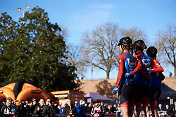 WNT Rotor Pro Cycling sign on at Strade Bianche - Elite Women 2019, a 136 km road race starting and finishing in Siena, Italy on March 9, 2019. Photo by Sean Robinson/velofocus.com