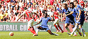 Ramires with the challenge during the FA Community Shield match between Chelsea and Arsenal at Wembley Stadium, London, England on 2 August 2015. Photo by Michael Hulf.