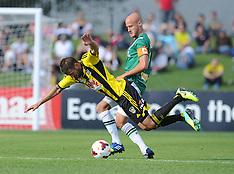 Napier-Football, A-League, Phoenix v Newcastle Jets, October 27