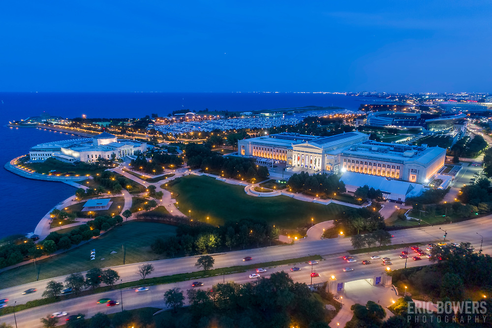 Chicago's Shedd Aquarium and Museum Campus, Near South Side