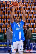 Joshua Bostic<br /> Banco di Sardegna Dinamo Sassari - Germani Basket Leonessa Brescia<br /> Legabasket Serie A LBA PosteMobile 2017/2018<br /> Sassari, 08/04/2018<br /> Foto L.Canu / Ciamillo-Castoria