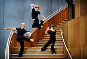 15/02/2013 NEWS: NEWS- 3G is a contempory dance piece at Perth Festival, which involves dances of 3 generations. PICTURED- Stefan Karlsson 57, Kye Maurer 21 and Oisin Hides 12.