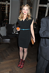 NATALIE DORMER at a dinner hosted by Pablo Ganguli and Ella Krasner to celebrate the 10th Anniversary of Liberatum and in honour of Sir Peter Blake held at The Corinthia Hotel, Nortumberland Avenue, London on 23rd November 2011.