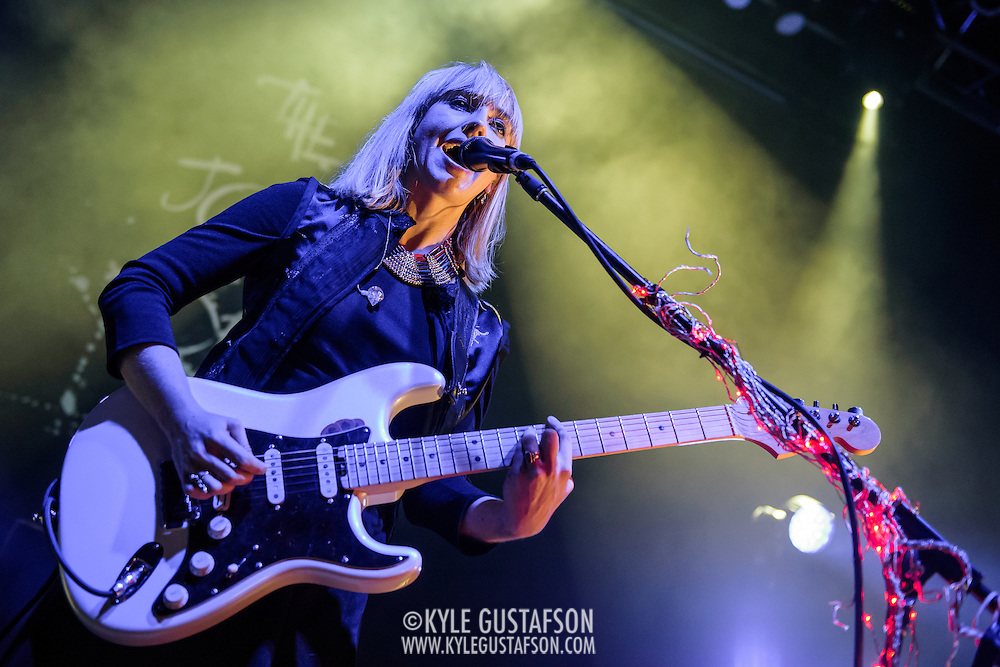 The Joy Formidable perform at the 9:30 Club in Washington, D.C. (Photo by Kyle Gustafson)