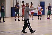 Marco Crespi<br /> Nazionale Femminile Senior <br /> Allenamento FIBA Women's EuroBasket 2019 Qualifiers<br /> FIP 2017<br /> Roma 06/11/2017<br /> Foto M.Ceretti / Ciamillo-Castoria