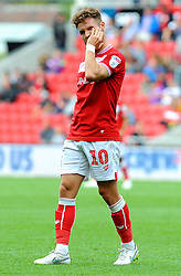Matty Taylor of Bristol City cuts a dejected figure - Mandatory by-line: Nizaam Jones/JMP- 18/08/2018 - FOOTBALL - Ashton Gate Stadium - Bristol, England - Bristol City v Middlesbrough - Sky Bet Championship