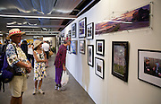 """""""Louisiana Road Trip"""" exhibit in the Grandstand at the 2010 New Orleans Jazz & Heritage Festival presented by the New Orleans Photo Alliance; Nick Spitzer, juror"""