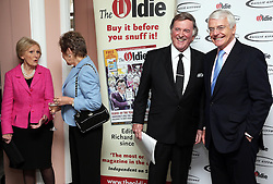 Norma Major, Mary Berry, Sir Terry Wogan and Sir John Major at the Oldie of the Year Awards in London, Tuesday, 4th February 2014. Picture by Stephen Lock / i-Images