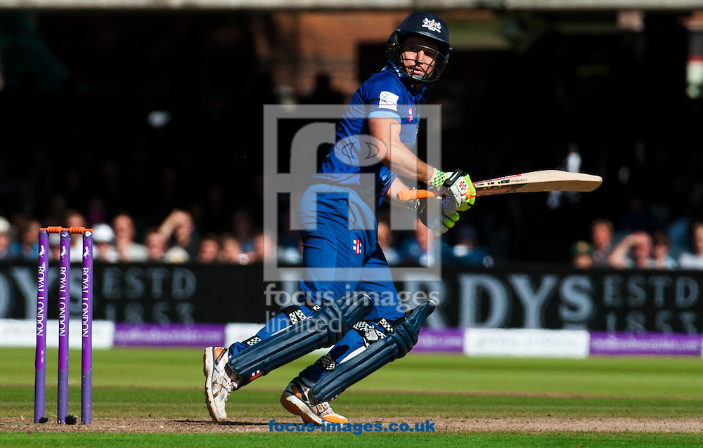 Geraint Jones of Gloucestershire  during the Royal London One Day Cup Final match at Lord's, London<br /> Picture by Jack Megaw/Focus Images Ltd +44 7481 764811<br /> 19/09/2015