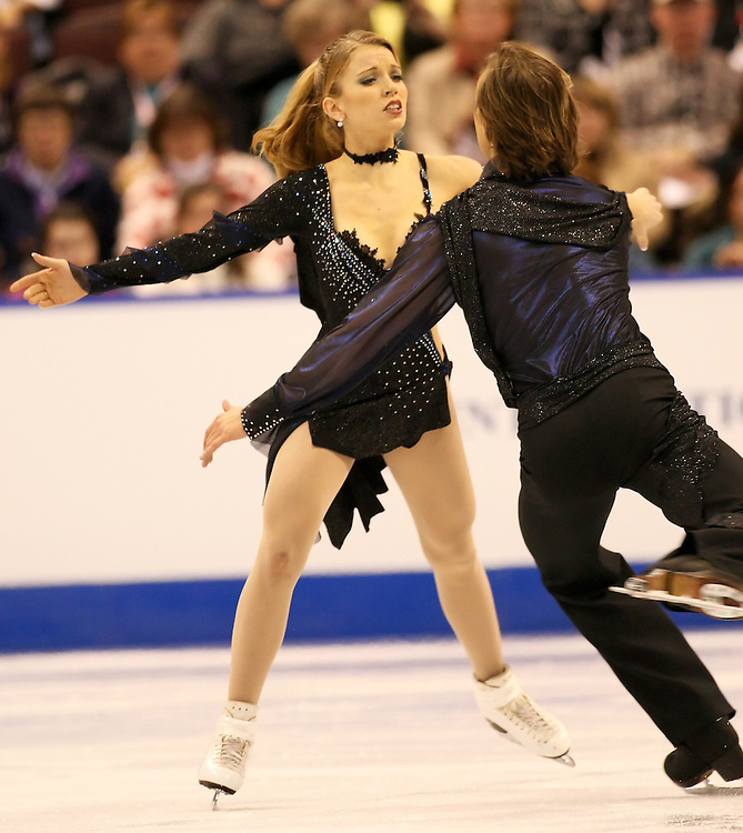 (Ottawa, ON---2 November 2008)  Jennifer Wester and Daniil Barantsev of the USA competes in the ice dance free skate at the 2008 HomeSense Skate Canada International figure skating competition. . Photograph copyright Sean Burges/Mundo Sport Images (www.msievents.com).