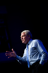 Paddy Ashdown talking at the National Housing Federation Annual Conference and Social Housing Exhibition 2008 held at the ICC Birmingham, England, UK.