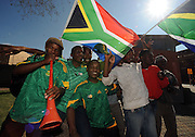 Johannesburg South Africa Opening Ceremony Confederations Cup 2009 14.06.2009.Fans.