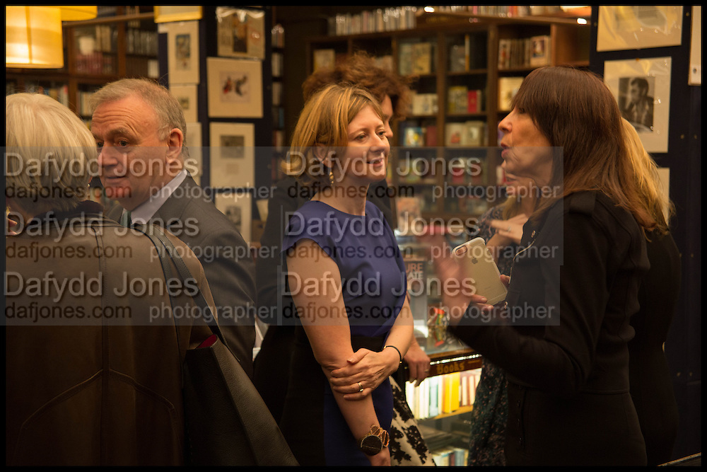 FRANCES OSBORNE  Book party for 'The Liar's Ball' by Vicky Ward hosted by  Sir Evelyn  de Rothschild at Henry Sotheran's, 2 Sackville Street London. 25 November 2014