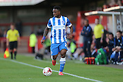 Kazenga LuaLua during the Pre-Season Friendly match between Crawley Town and Brighton and Hove Albion at the Checkatrade.com Stadium, Crawley, England on 22 July 2015.